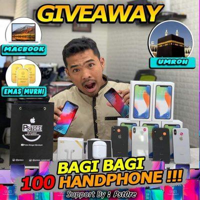 Pstore Giveaway Smartphone Gratis