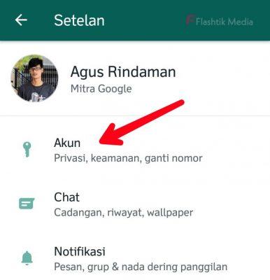 Cara aktifkan sidik jari wa di whatsapp