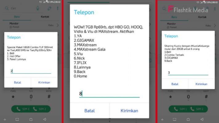 Cara Unreg Paket Maxtreem Telkomsel