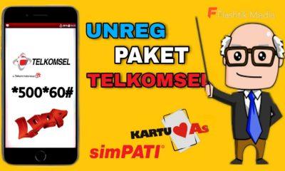 Cara Unreg Paket Telkomsel Penyedot Pulsa