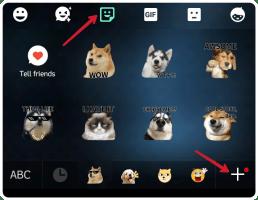 Cara tambah stiker di keyboard go