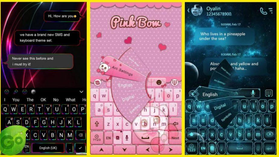 Ganti thema keyboard go