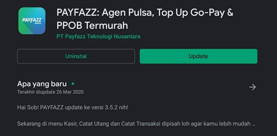Download aplikasi payfazz
