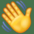 Melambaikan tangan