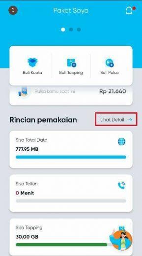 Cek kuota by.u aplikasi
