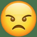 wajah marah