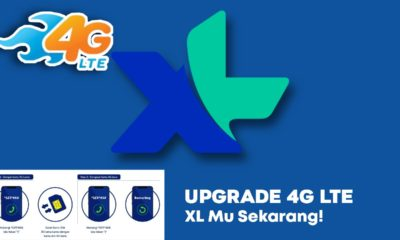 cara upgrade 4G XL