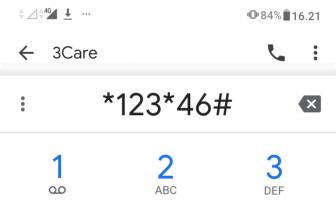 kode dial up upgrade tri 4g