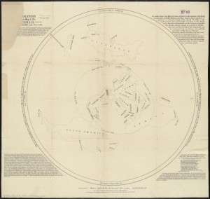 Middleton's pioneer map of the world