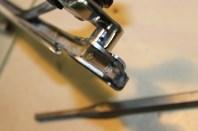 rivet classique aplatis
