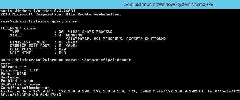 Windows Remote Management (WinRM)