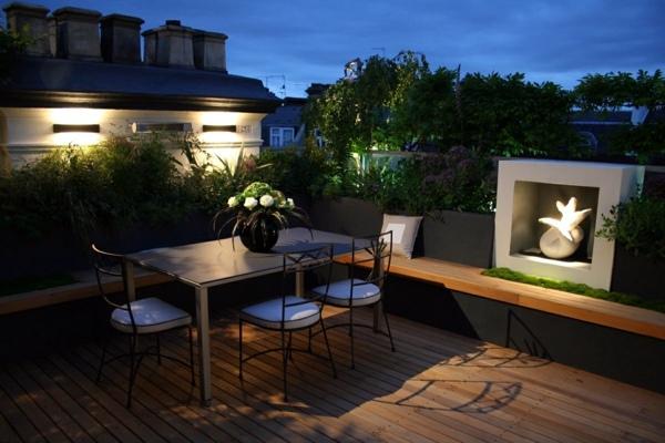 Come arredare una terrazza panoramica - Flat Design