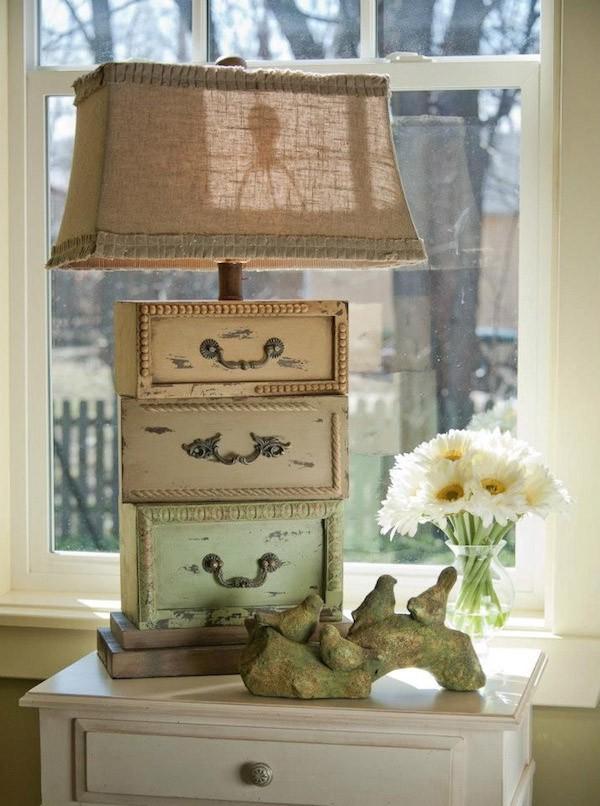 lampada stile provenzale