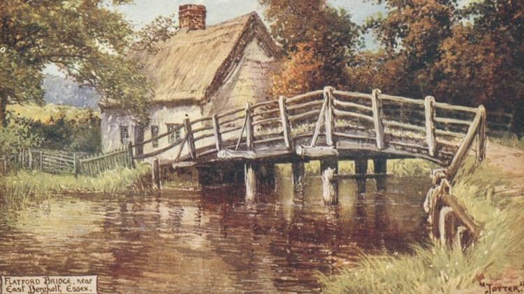 Bridge Cottage - 1906 postcard