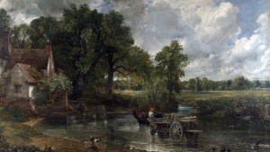 Detail from The Haywain by John Constable 1820