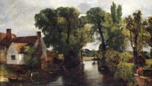 photo of John Constable's The Mill Stram, 1815-16