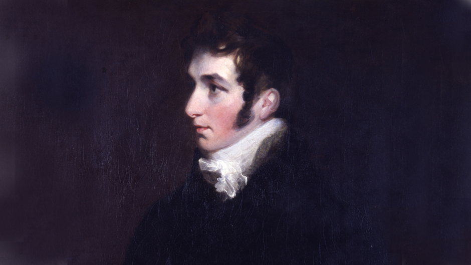 Portrait of Abram Constable painted by his brother John Constable