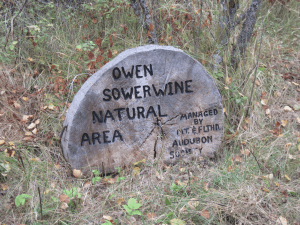 Owen Sowerwine Natural Area Entrance