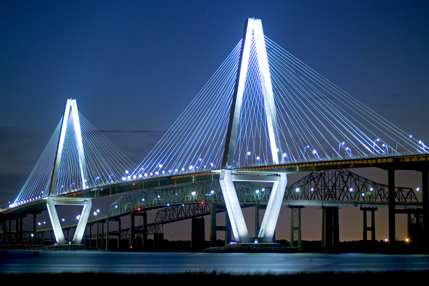 Arthur Ravenel Bridge Cooper River Flatiron