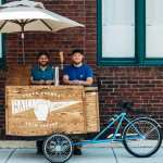 Long Time Friends Create A Mobile Coffee Cart On A Bicycle