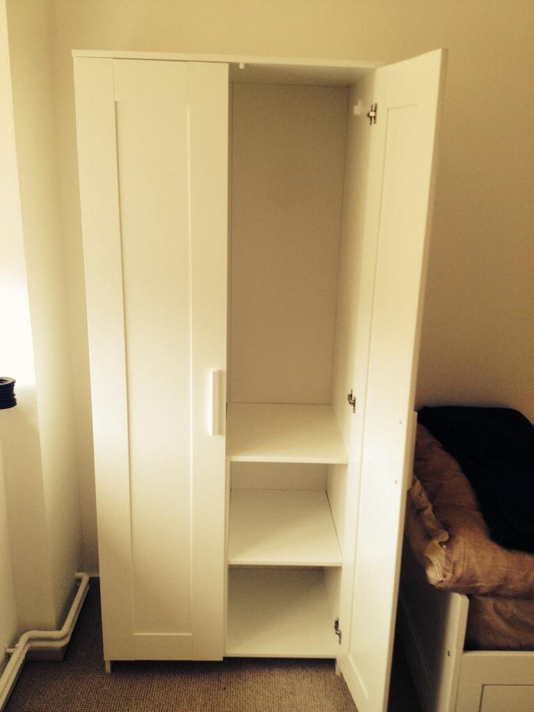 Ikea Brimnes Wardrobe Assembly Brighton Flat Pack Dan