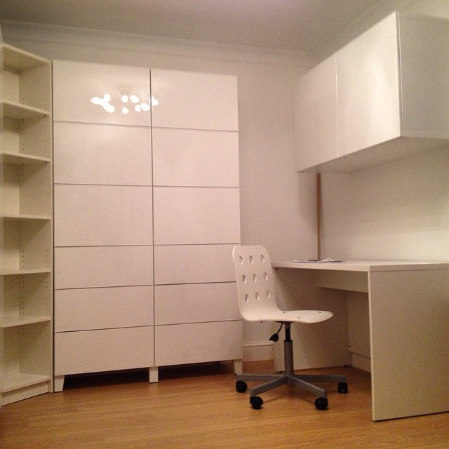 One of our favourite #ikea home #office installations from a couple of years ago.