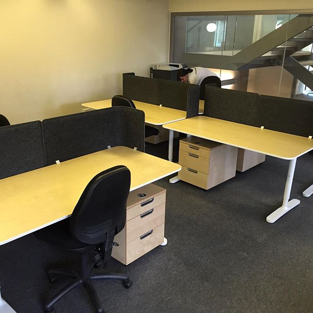 #Ikea office furniture assembly & installation.