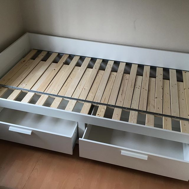 Ikea Brimnes day bed assembly  Flat Pack Dan Limited