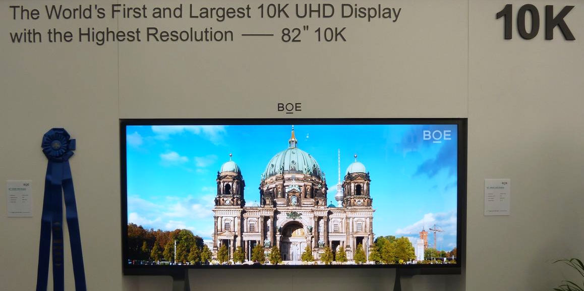 tv with 10k resolution