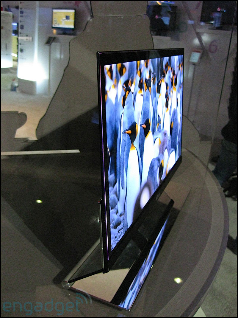 CES 2009 15inch OLED from LG in 2009  FlatpanelsHD