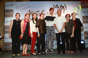 Lee Min Ho with the Promenade /Theatre Mall Administration
