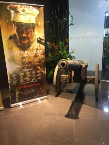 Heneral Luna special advance screening held at the Greenhills Promenade in the city of San Juan  last August 10