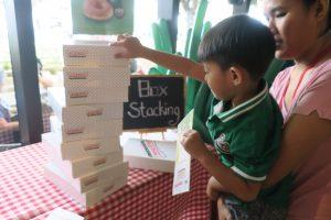 Krispy Kreme Box Stacking with JP