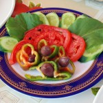 Fresh Salad from Flats in Luxor