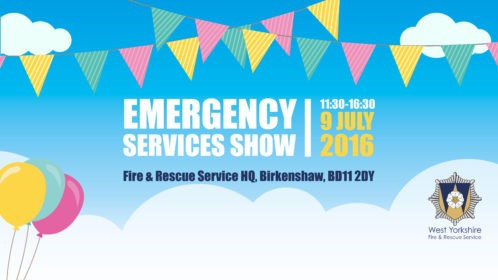 Emergency Services show at West Yorkshire Fire Service