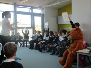 First Aid Fun at University of Cambridge Primary School