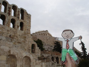 Athens Greece Flat Stanley Books