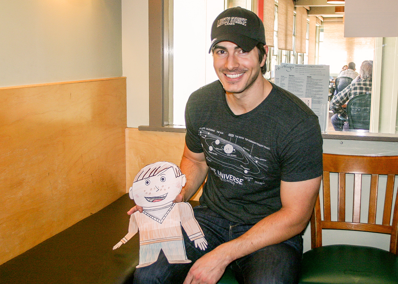 hight resolution of brandon routh