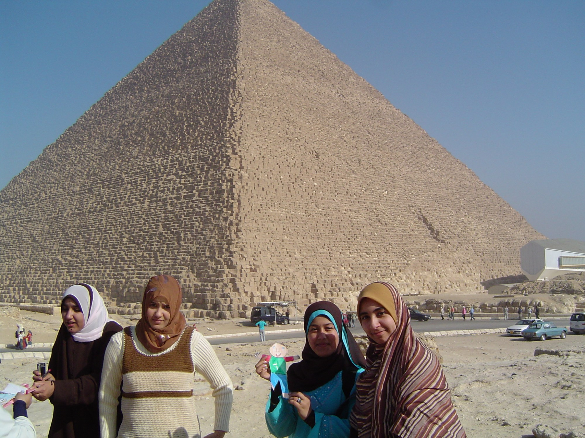 hight resolution of at the pyramids in egypt