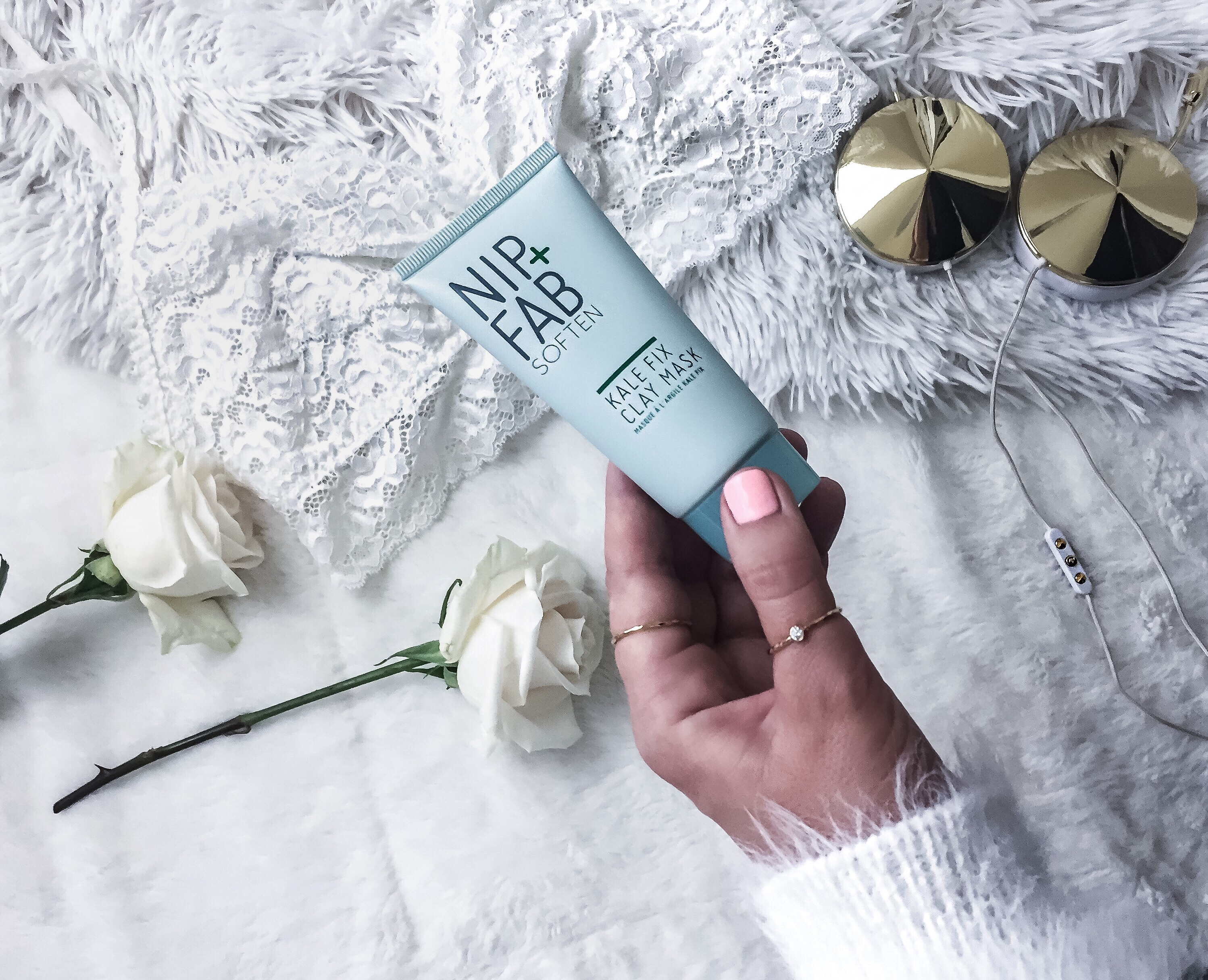Houston fashion and lifestyle blogger Tiffany Jais of Flaunt and Center sharing Nip+Fab kale mask | Beauty products