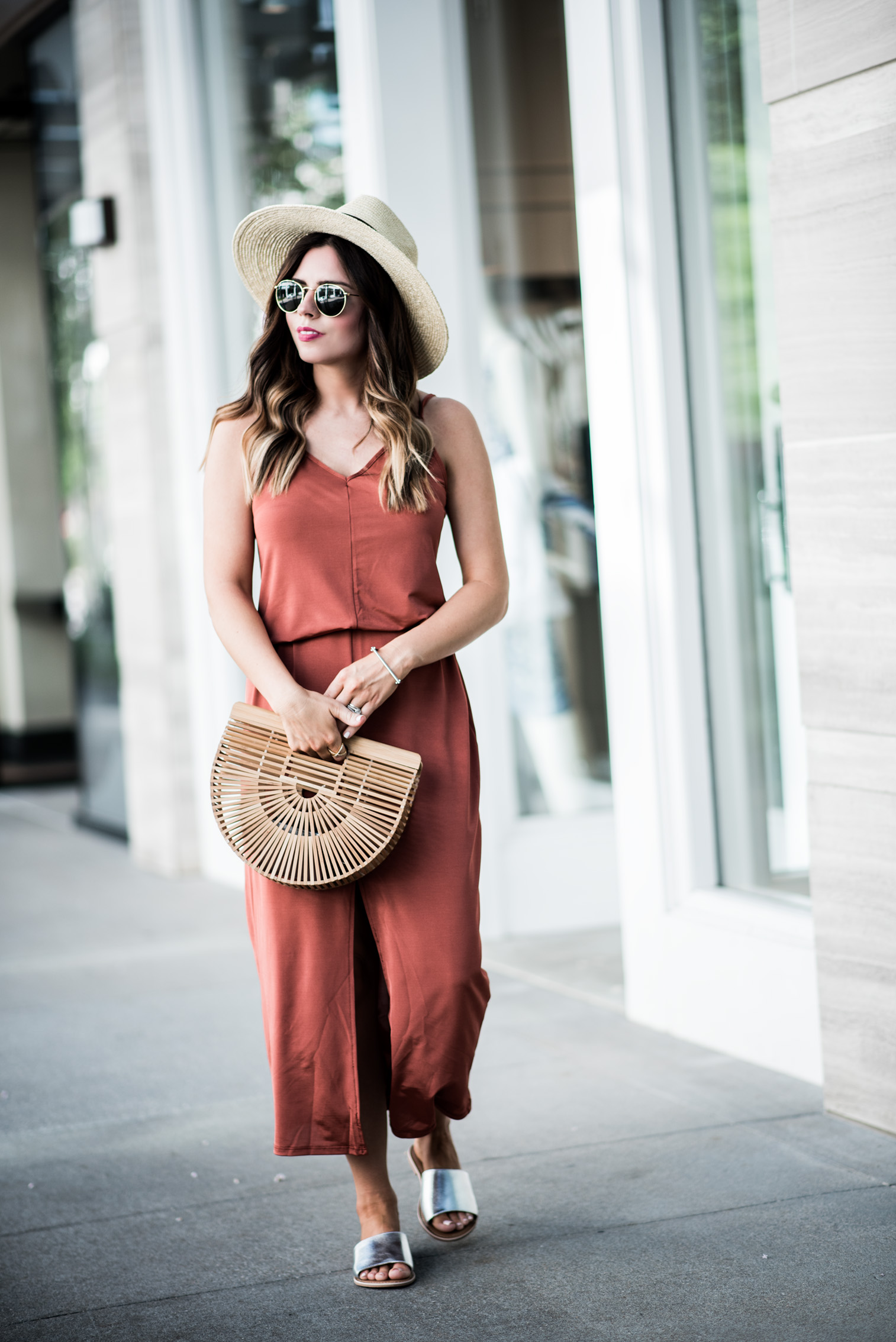 Tiffany Jais Houston fashion and lifestyle blogger | Currently trending- the slip maxi dress | casual outfits