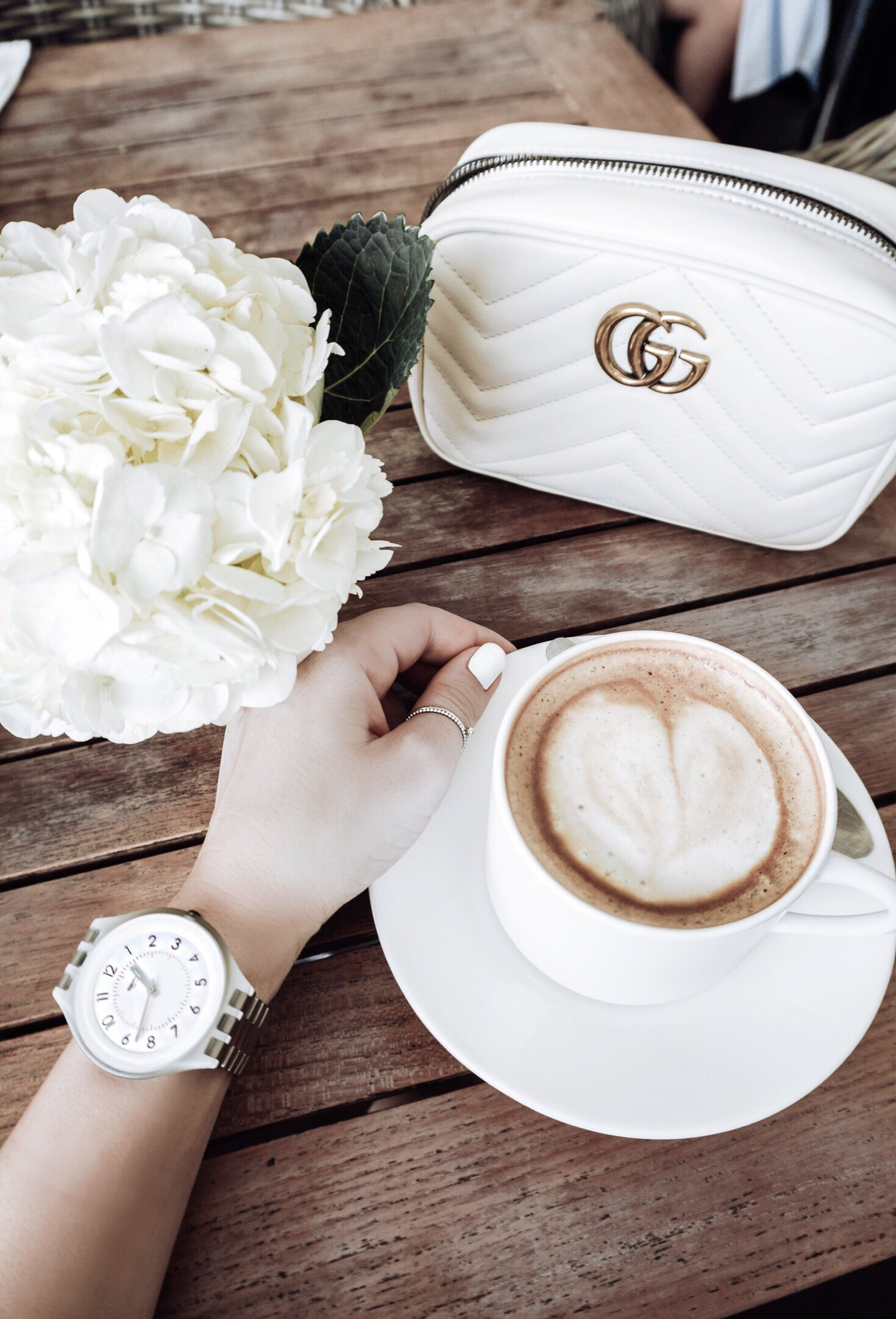 Tiffany Jais Houston fashion and lifestyle blogger of Flaunt and Center | Houston fashion blogger 2017 summer fashion trends | Coffee flatlay, flatlay