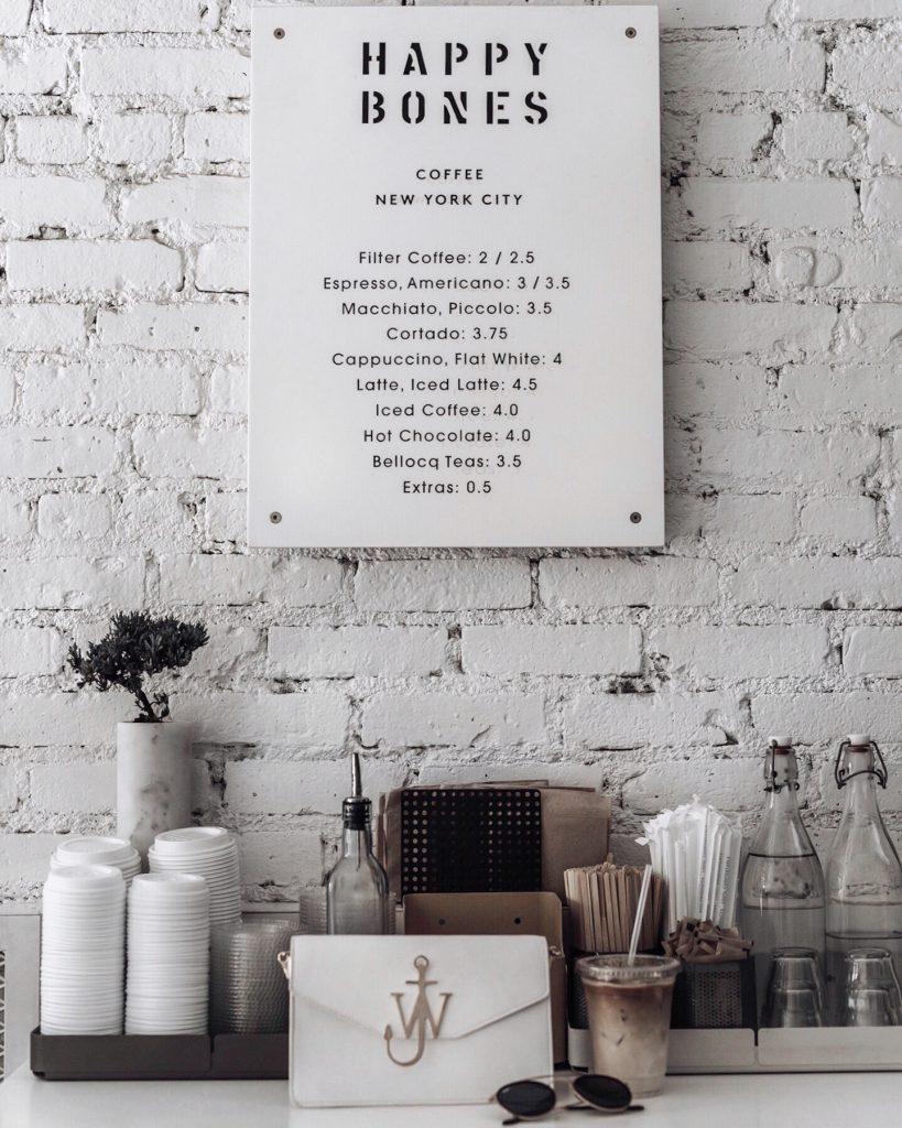 Soho coffee shop   Happy Bones coffee
