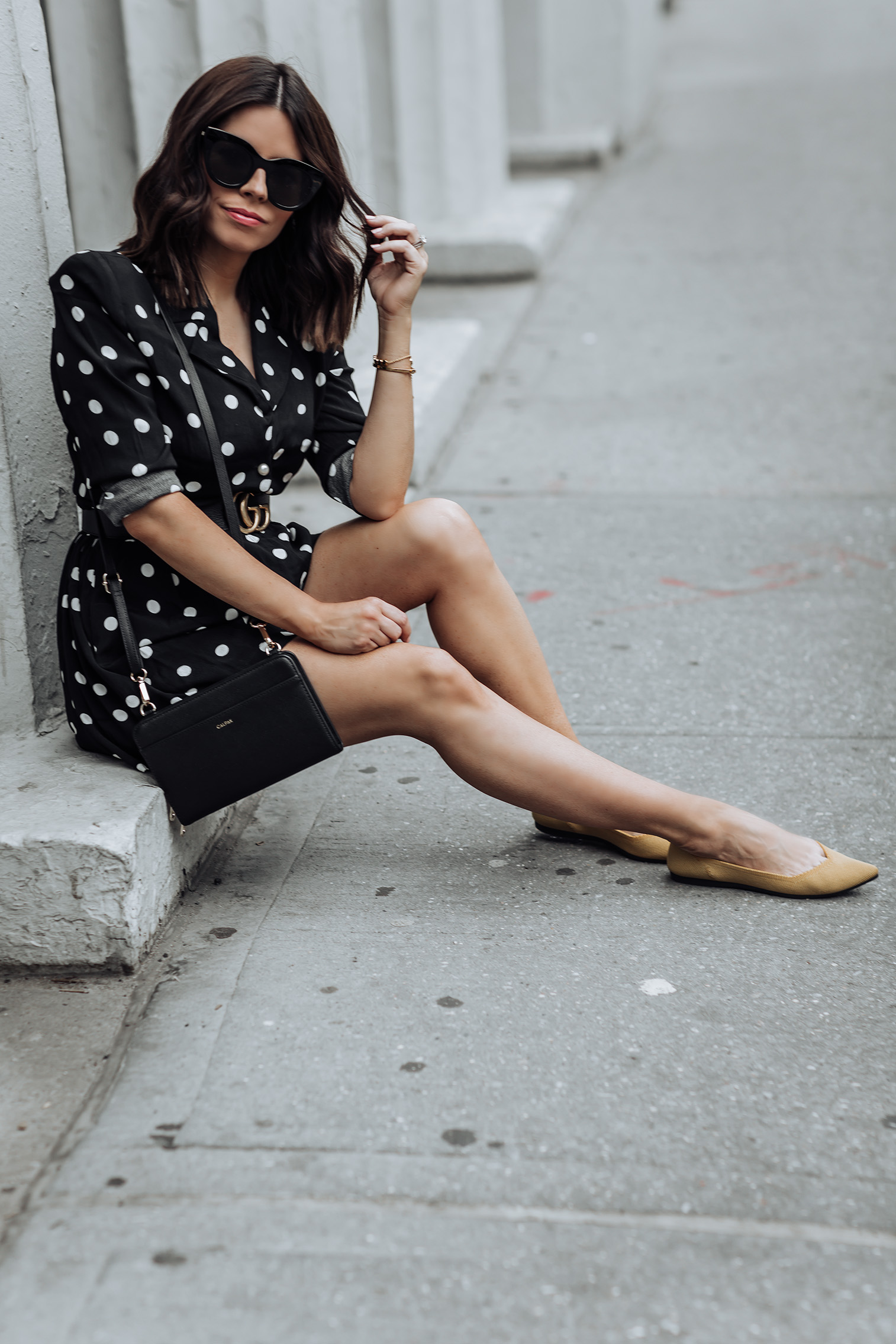 Rothy's footwear Tiffany Jais fashion and lifestyle blogger of Flaunt and Center | NYC fashion blogger | Streetstyle blog