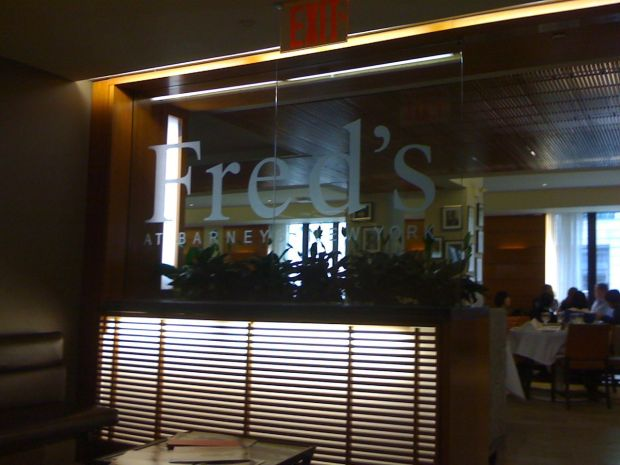 Fred's at Barneys