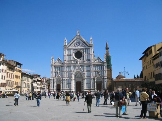 Firenze Piazza Santa Croce