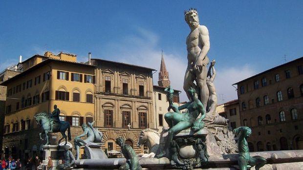 Firenze piazza de la Signoria
