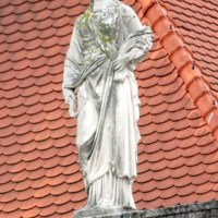 Zagreb - Statues on Buildings (Part 1)