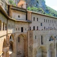 Subiaco - Monastery of Saint Benedict (Exterior) (Part 1)