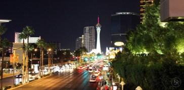 View to stratosphere tower, Las Vegas
